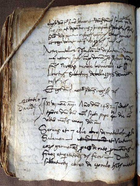 Metelis Zafferano di Matelica - atto notarile