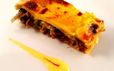 Lasagna allo zafferano